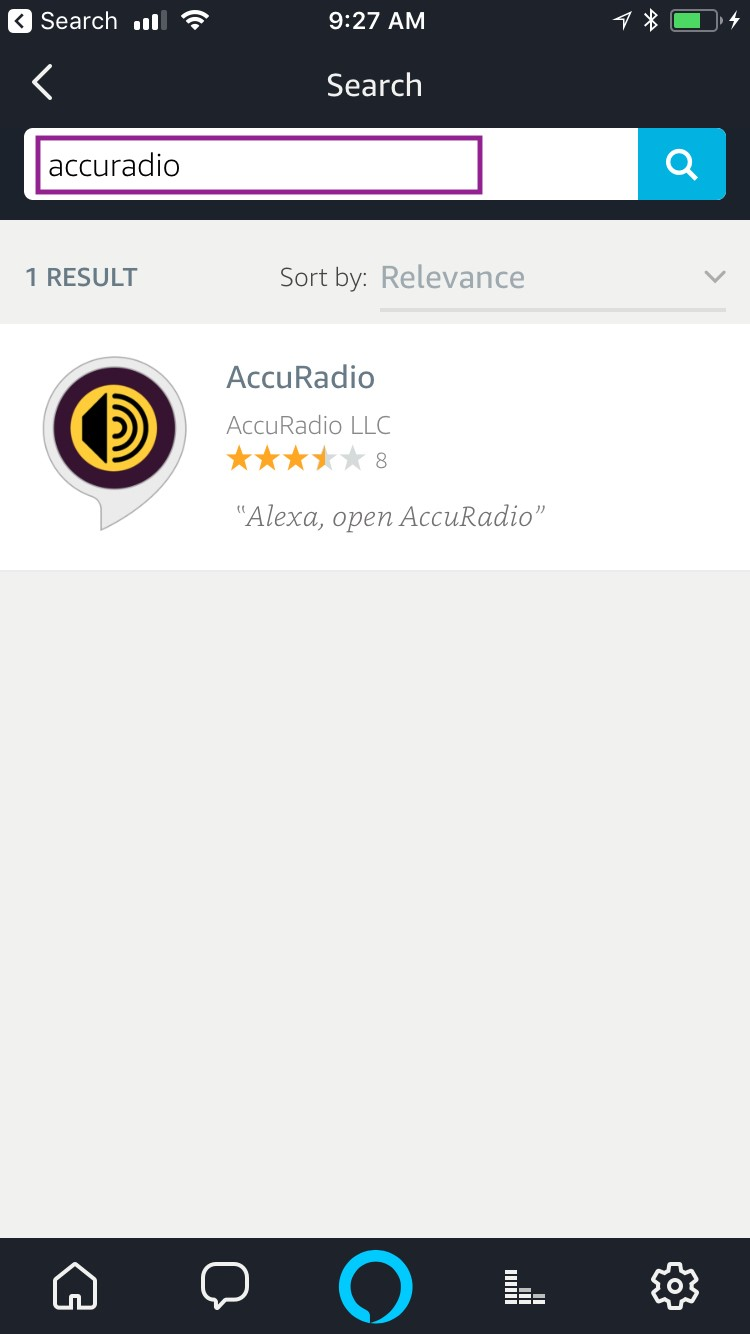 Listen on Echo and Alexa! – AccuRadio Support