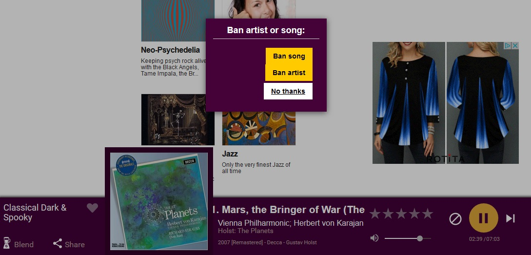 Accuradio Christmas.Banning Artists And Or Songs Accuradio Support